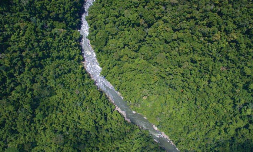 Le río Samaná, une merveille entre Medellín et Bogotá.