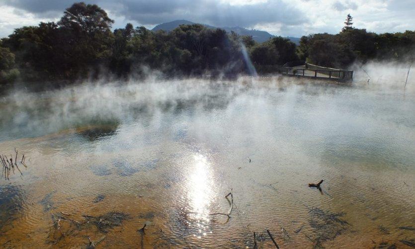 La géothermie à Rotorua est exceptionnelle.