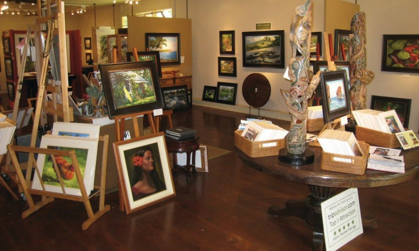 <p>Mike Carroll Gallery.</p>