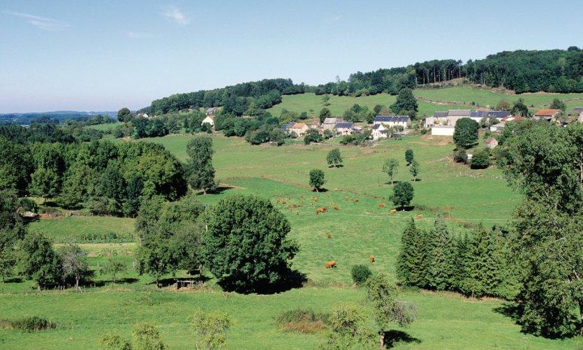 Village de Bénévent-l'Abbaye