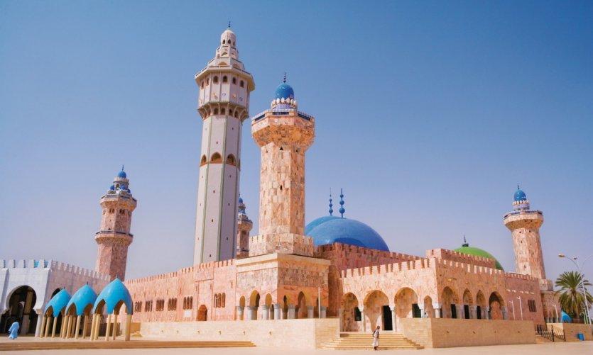 La Grande Mosquée de Touba.