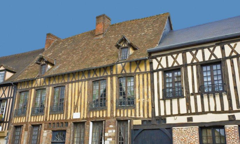 Maisons à colombages de Lyons-la-Forêt
