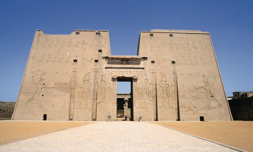 <p>Temple of Horus.</p>