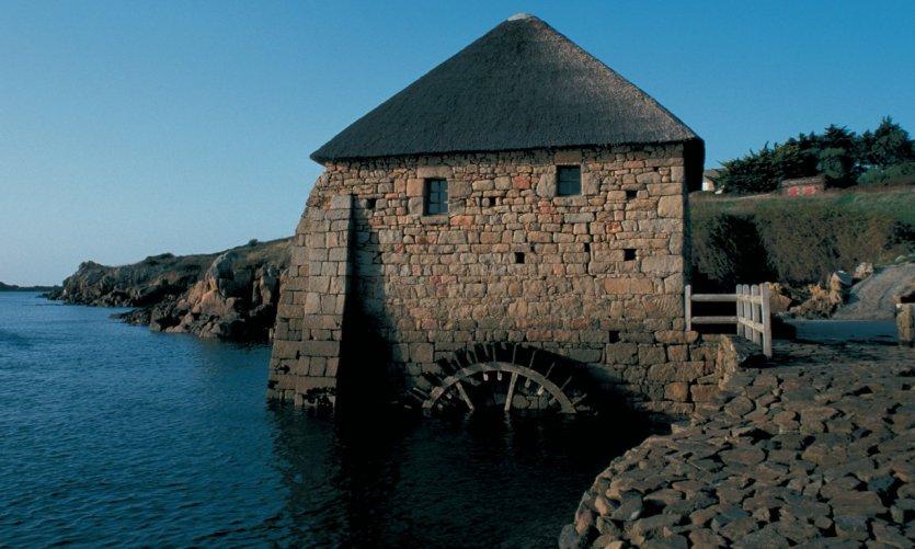Moulin à marée du Birlot sur l'île de Bréhat