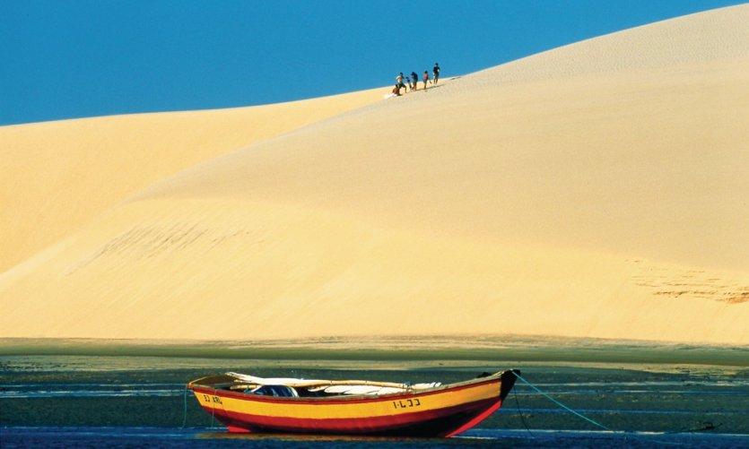 Dunes à Jericoacoara.