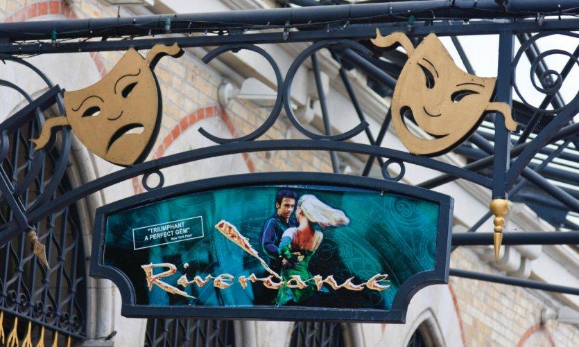 The Gaiety Theatre, sur South King Street, héberge le fameux spectacle Riverdance.
