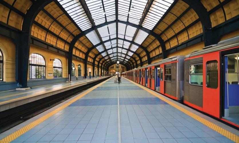 Station de métro du Pirée.