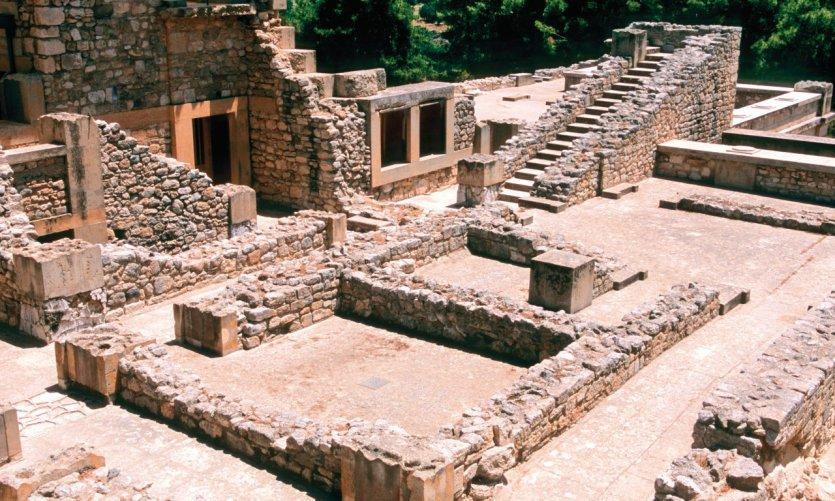 Site minoen de Cnossos.