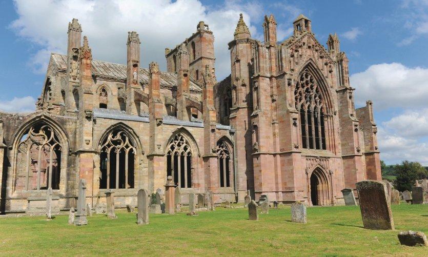Abbaye de Melrose.