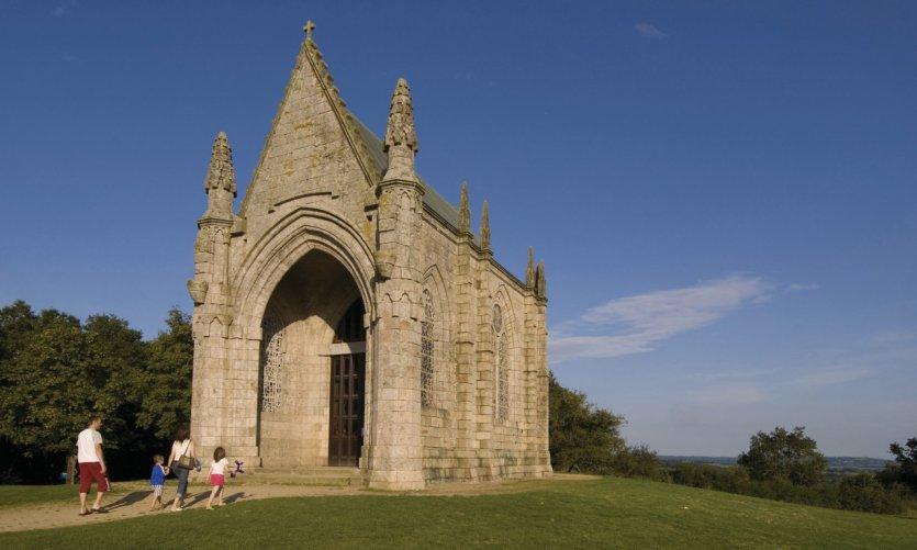 La chapelle du Mont des Alouettes