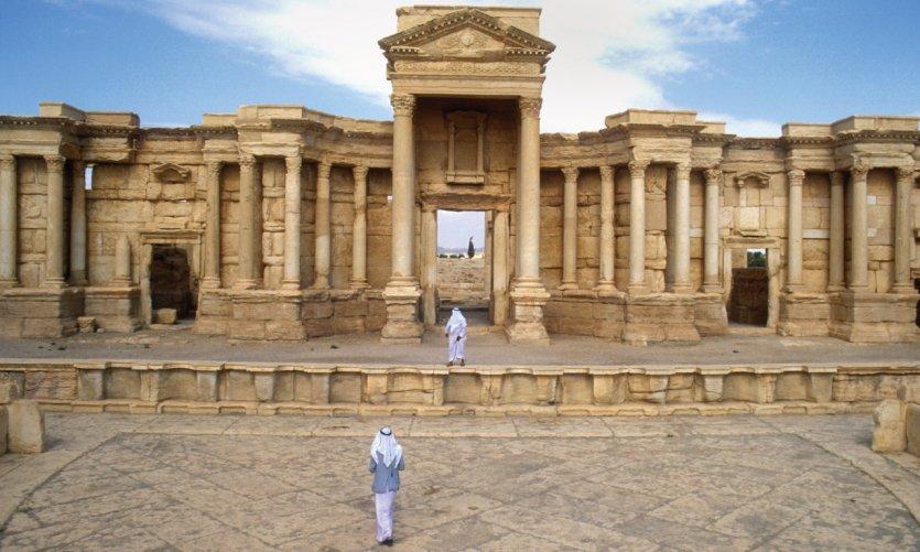 Amphithéâtre de Palmyre.