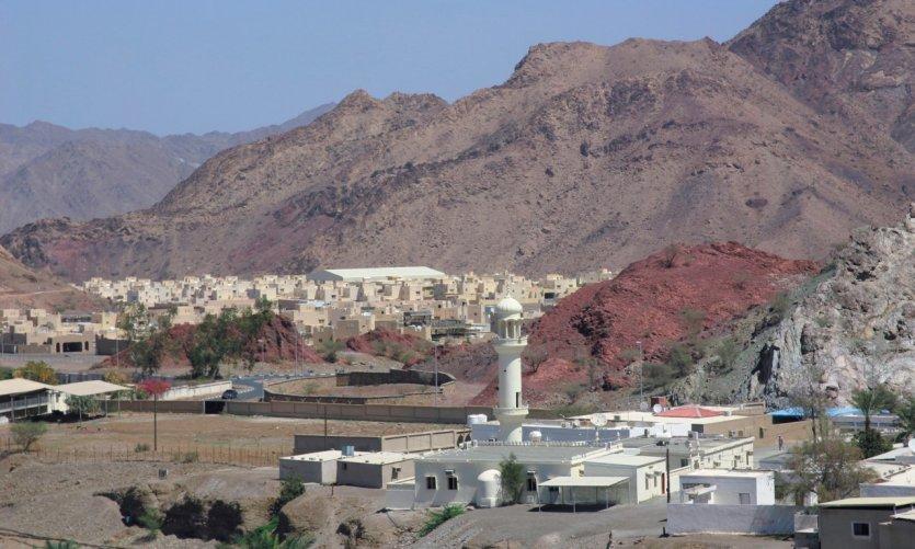 Montagnes du côté de Hatta