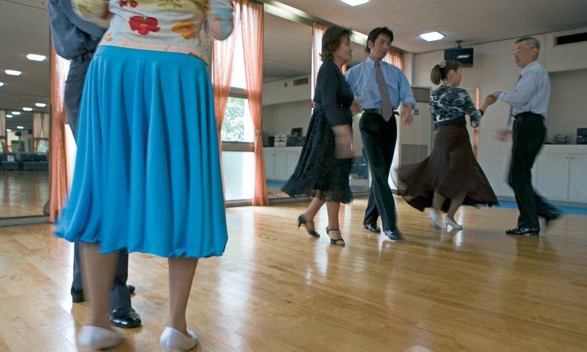 Les écoles de danse fleurissent à Tokyo.