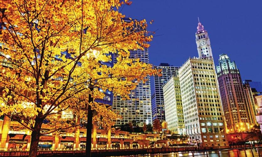 Wrigley Building, Chicago.