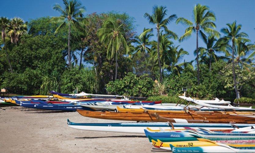 <p>Playa de Kailua-Kona.</p>