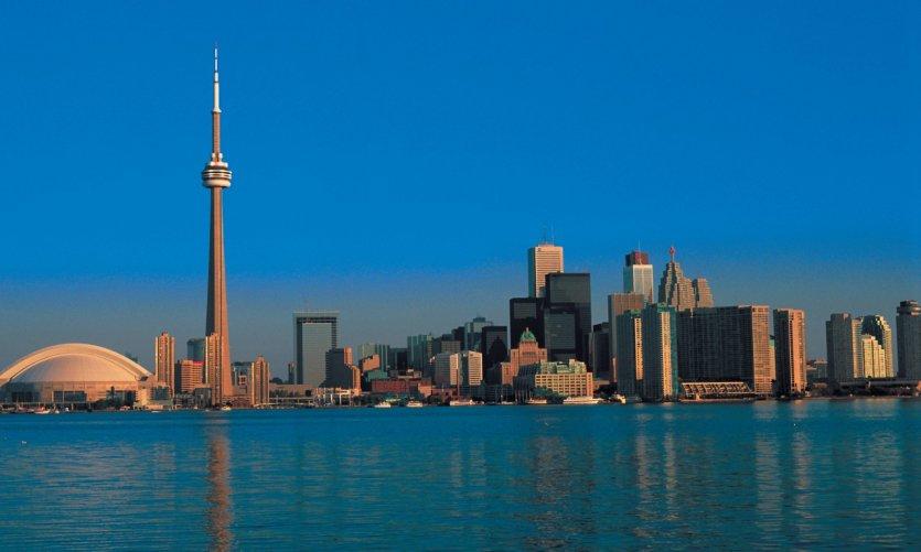 Centre-ville de Toronto et Tour CN.