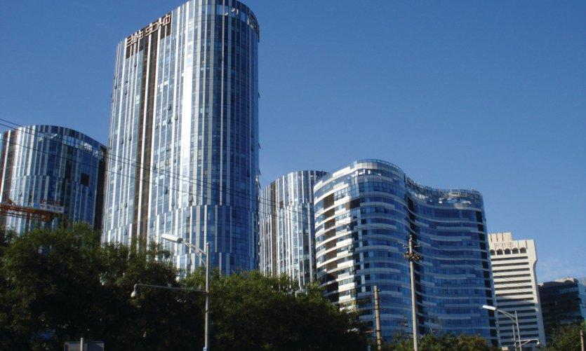 Tours de bureaux dans le quartier de Chaoyang.