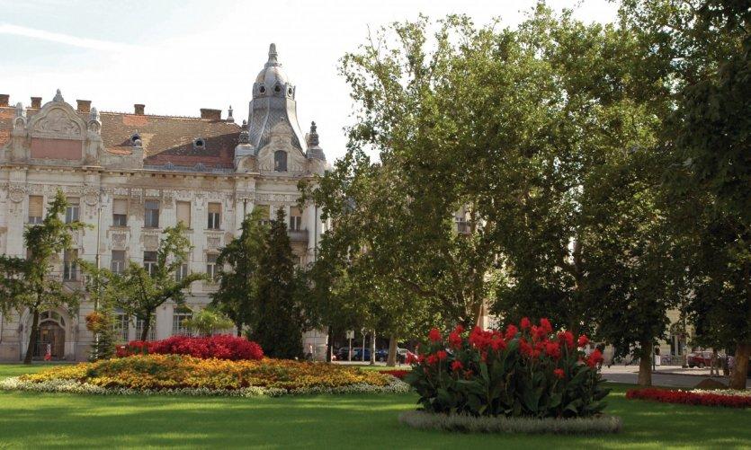 Jardin de Szeged.