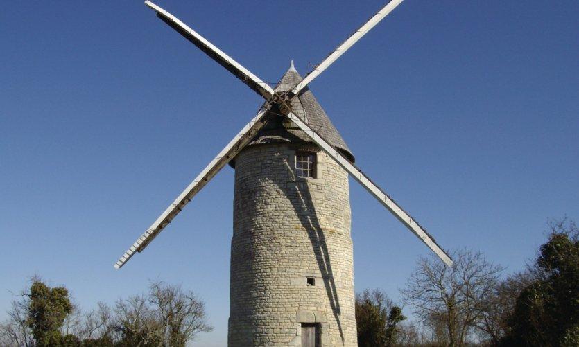 Le moulin de Rimbault de Beauvoir-sur-Niort