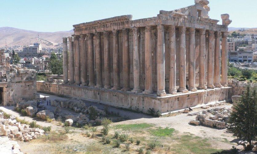 Temple de Bacchus, Baalbek