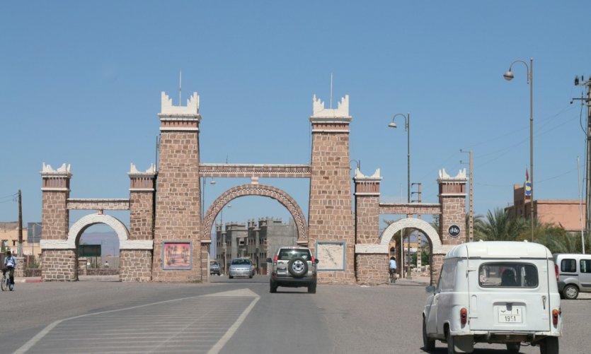 Porte de la ville.