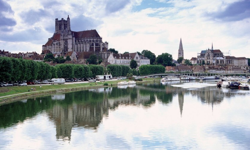 L'abbaye Saint-Germain - Auxerre