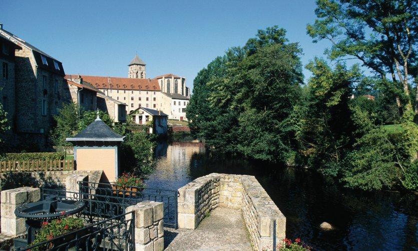 Les rives de la Vienne à Eymoutiers