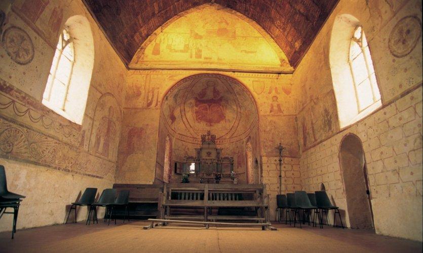Vue interieure de l'église