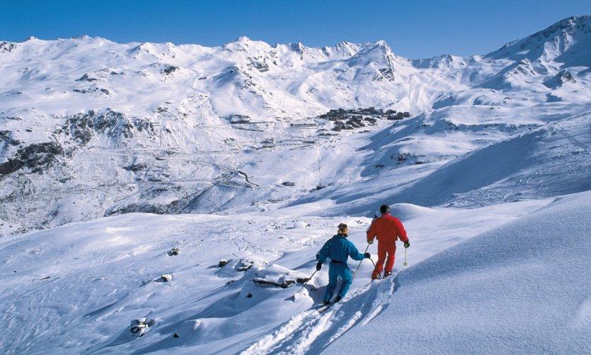 Skieurs - Val-Thorens