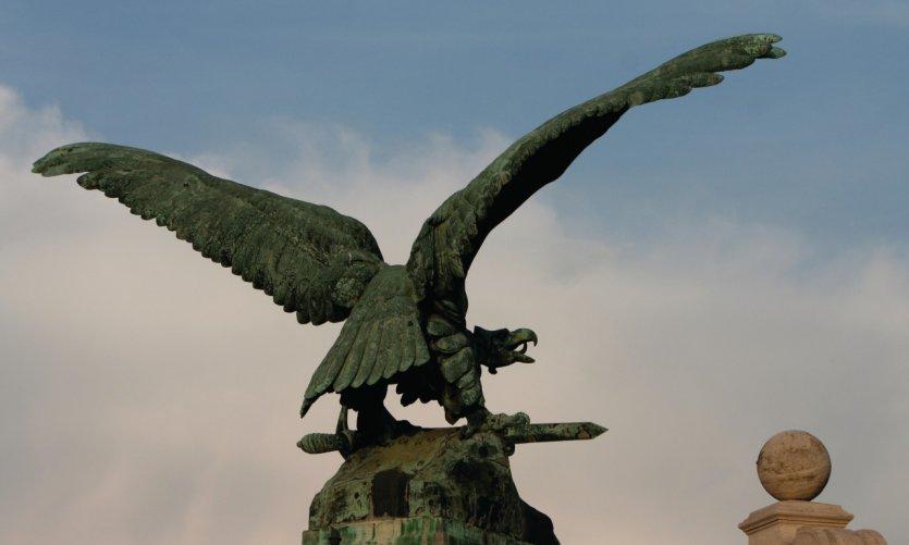 Le Turul, oiseau des légendes hongroises.