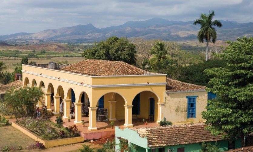 Vallée de San Luis ou vallée de los Ingenios (vallée des moulins à sucre) : Finca Iznaga.