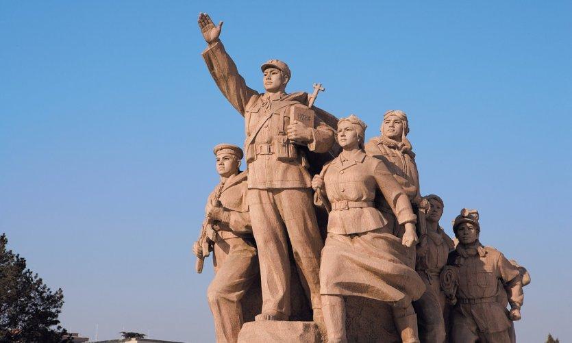 Place Tian An Men - Mausolée de Mao