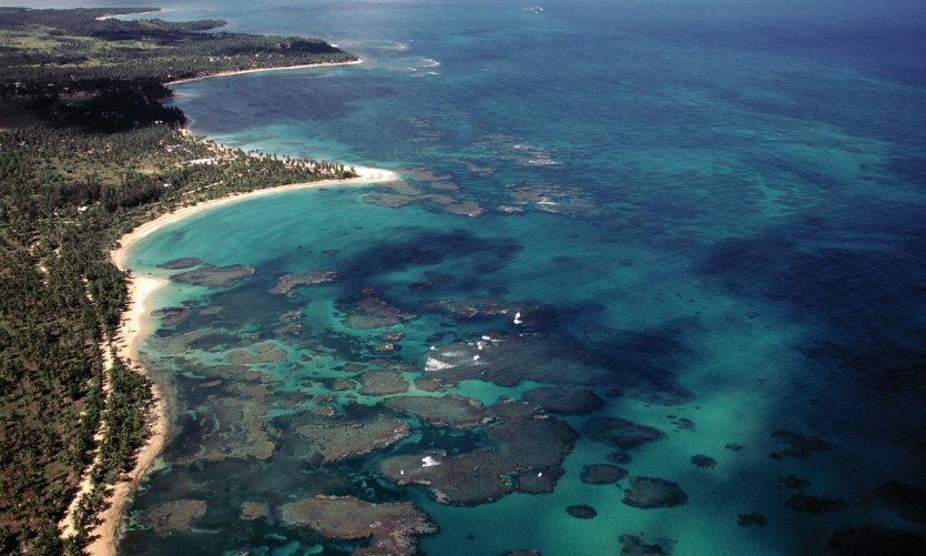 Côte Nord-Est proche de Pescadores.