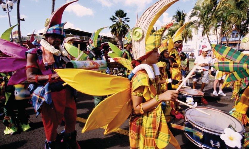 Carnaval à Fort-de-France.