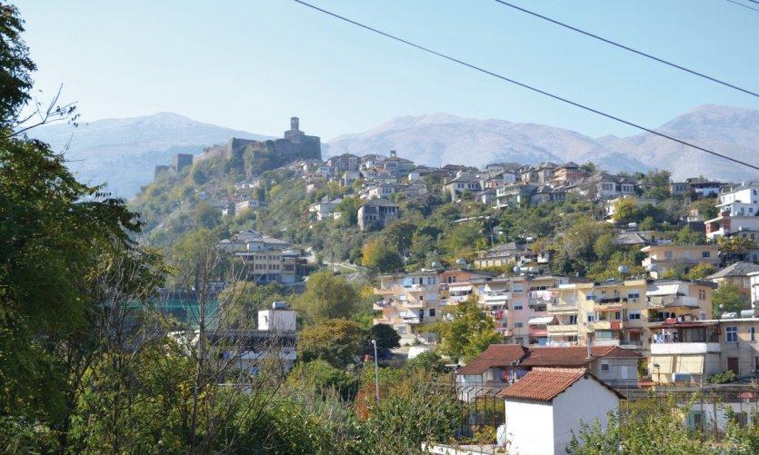 Ville de Gjirokastra.
