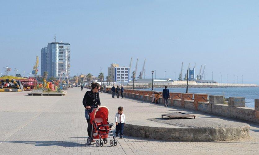<p>Puerto de Durrës.</p>