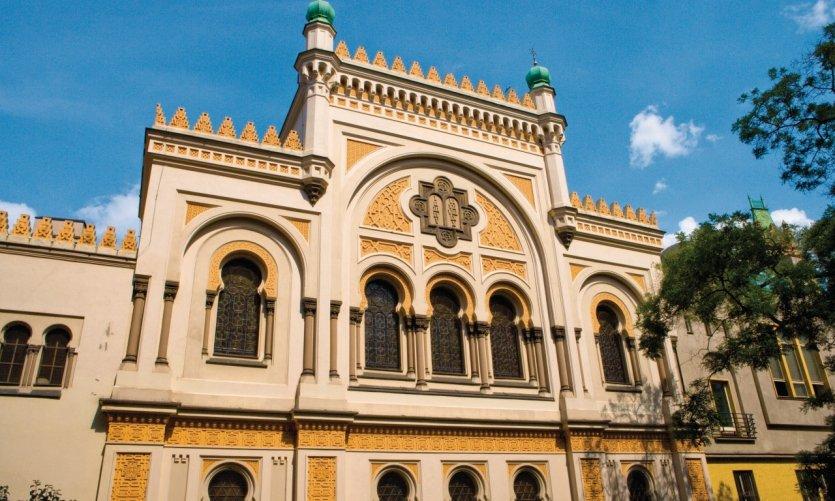 La synagogue espagnole (Španělská synagoga).