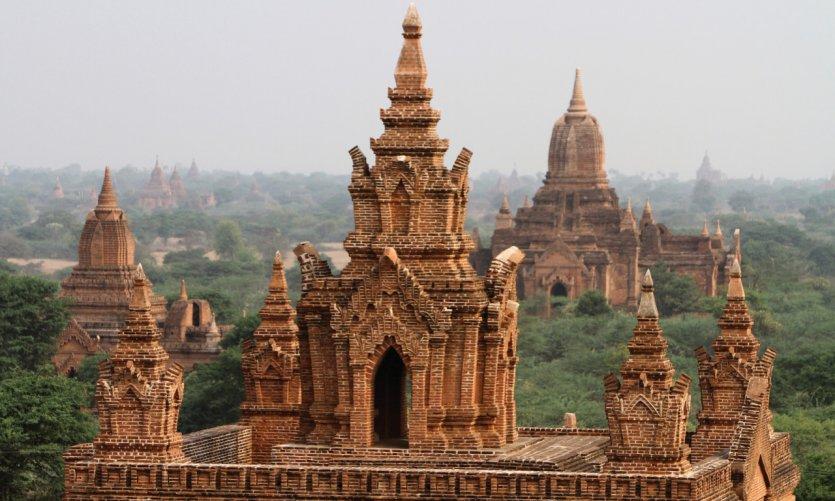 Des temples à perte de vue...