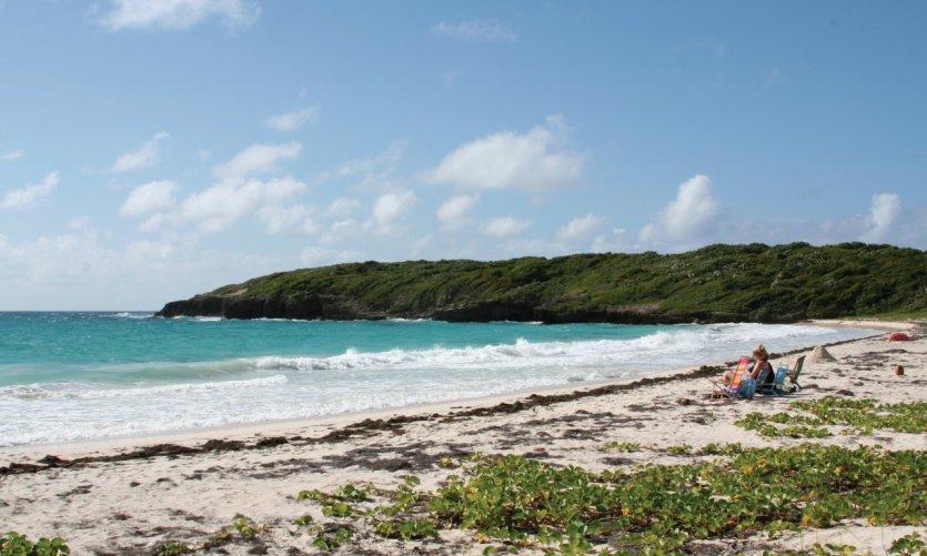 Green Beach de Vieques.