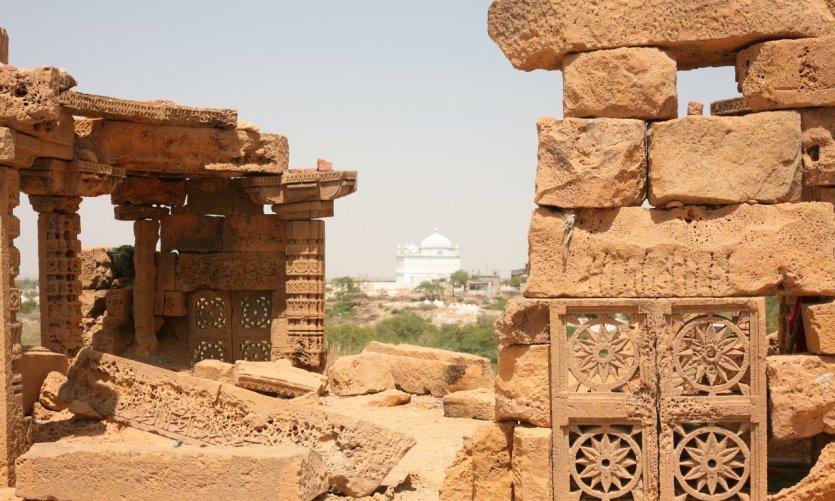 Détails du site de Makli, l'une des plus vastes nécropoles au monde.