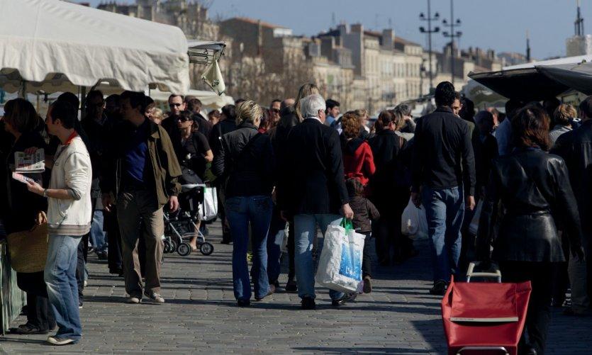 Le marché bio du quai des Chartrons