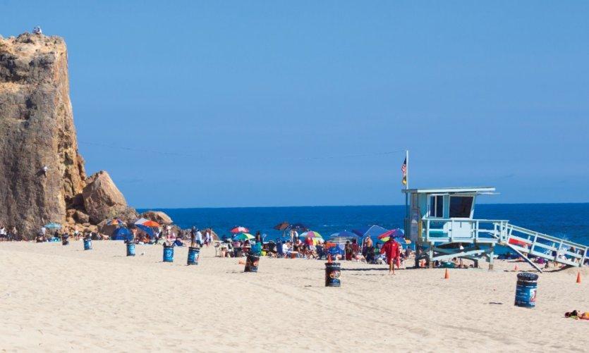 Malibu Beach.