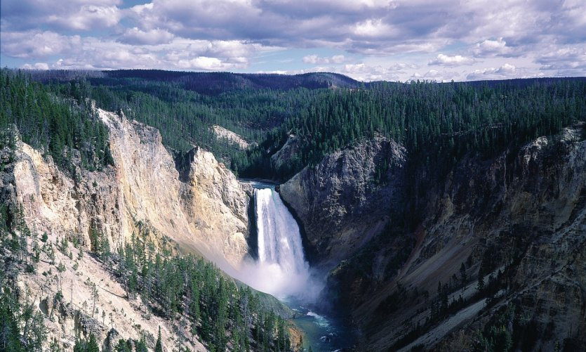 Cascade, Yellowstone National Park.