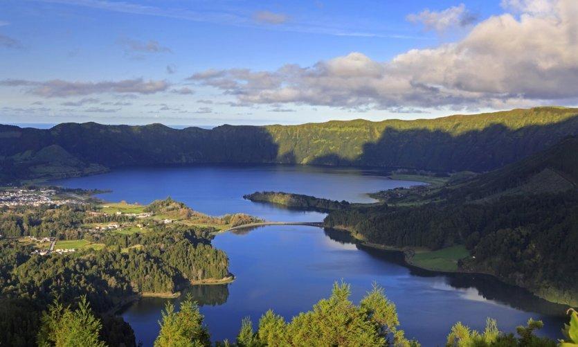 Lagoa Azul et Lagoa Verde.