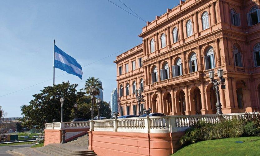 <p>Casa Rosada.</p>