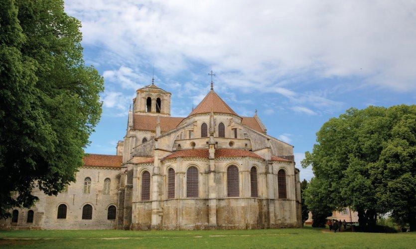 Basilique Sainte-Marie-Madeleine du Vézelay.