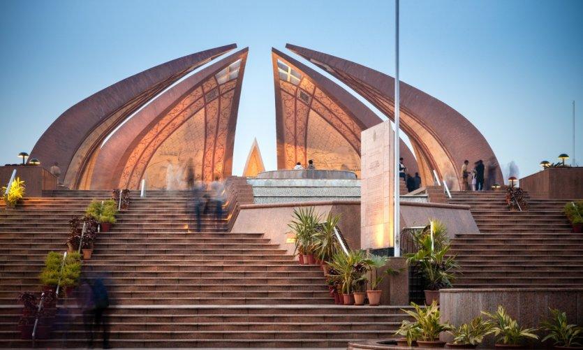 <p>Monument national Shakarparian, Islamabad.</p>