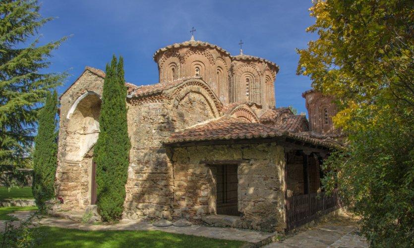 <p>Monastère de Veljuški, près de Strumica.</p>