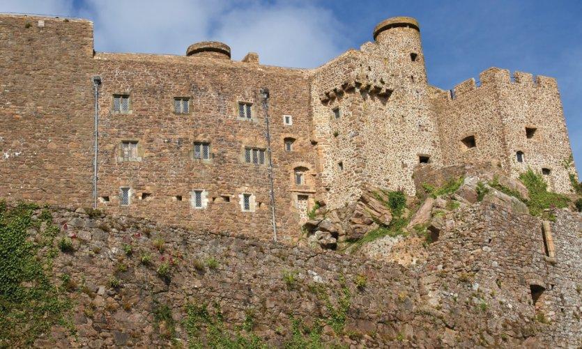 Mont Orgueil Castle.