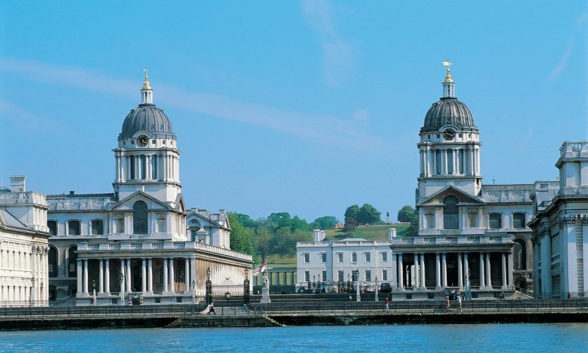 L'Old Royal Naval College, dans le quartier de Greenwich.